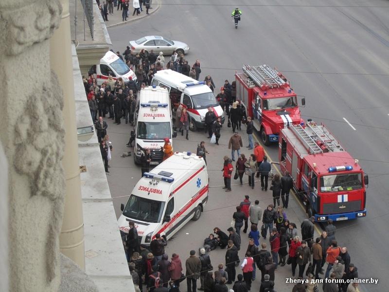 Несколько подозреваемых в причастности к теракту в минском метро.