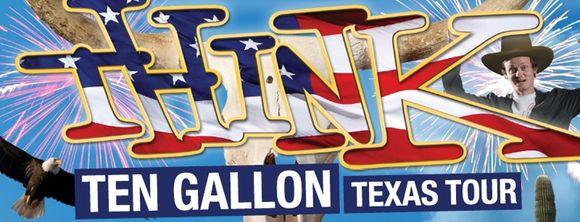 Think Texas Tour Poster