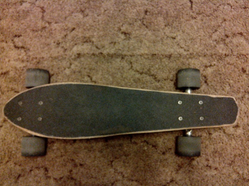 Как сделать крузер скейт