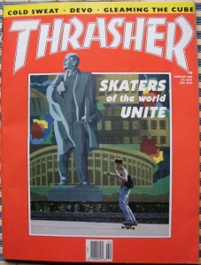 Thrasher Magazine. February 1989
