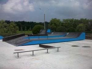 Скейтпарк на Столетова
