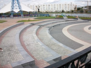 Love Park вид сбоку